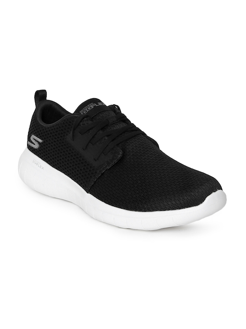 Skechers Men Black Go Flex Max Walking Shoes