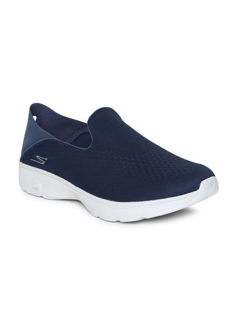 Skechers Men Navy Blue GO WALK 4 Walking Shoes