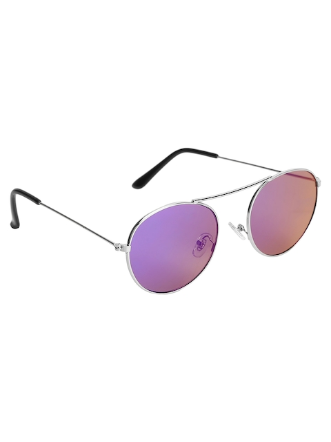 Olvin Unisex Oval Mirrored Sunglasses OL380-01