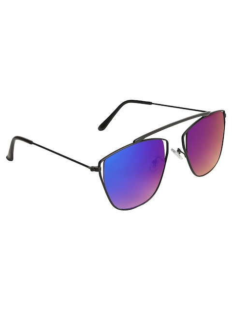 Olvin Unisex Square Mirrored Sunglasses OL378-07