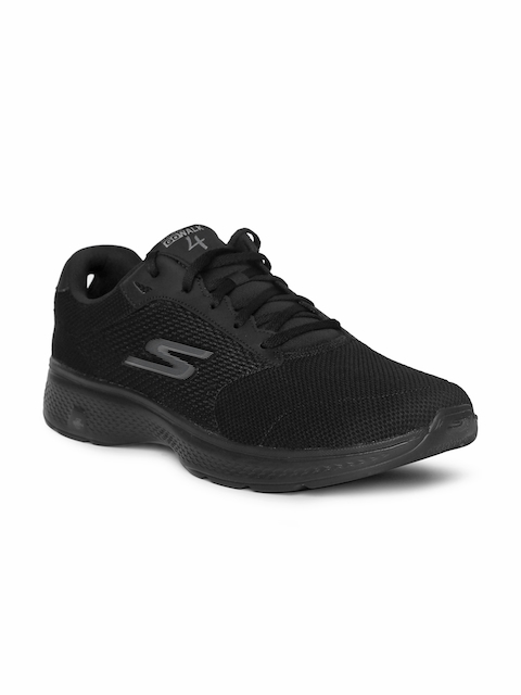 Skechers Men Black Walking Shoes