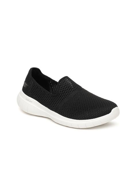 Skechers Women Black Go Flex Max Walking Shoes