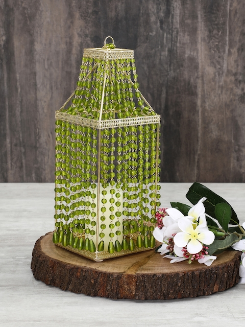 Pure Home and Living Green Large Candle Holder