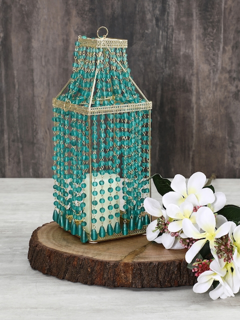 Pure Home and Living Blue Large Candle Holder