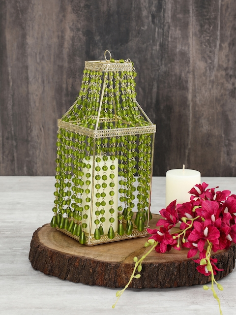 Pure Home and Living Green Small Candle Holder