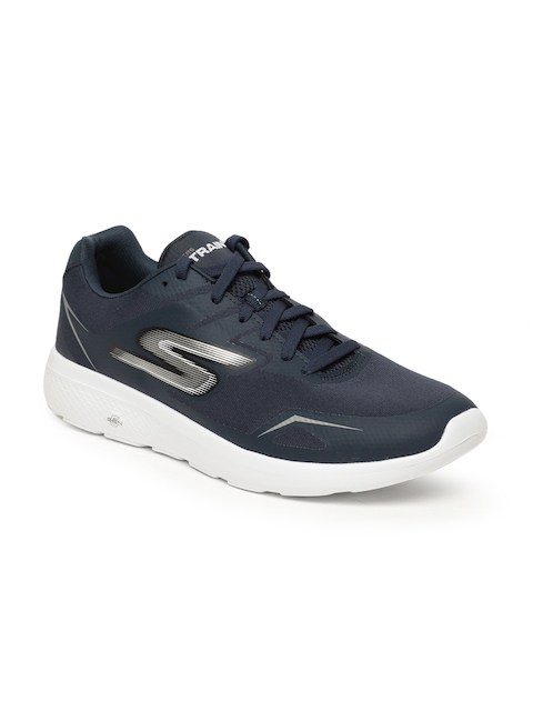 Skechers Men Navy Blue Go Train City Adept Walking Shoes