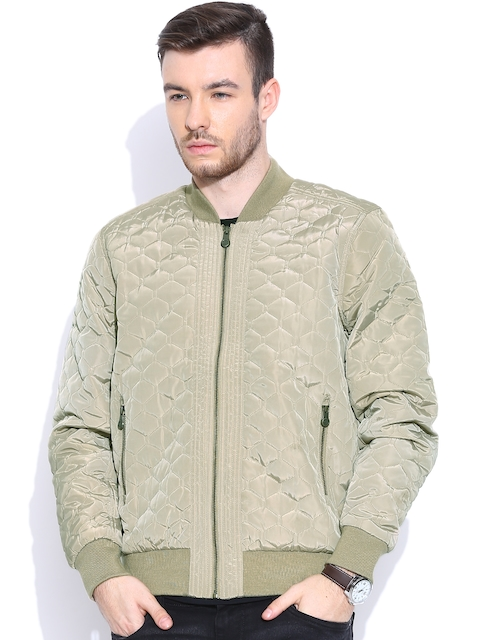 United Colors of Benetton Beige Qulited Jacket