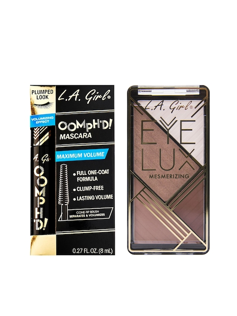 L.A. Girl Women Set of 2 Mascara & Eyeshadow