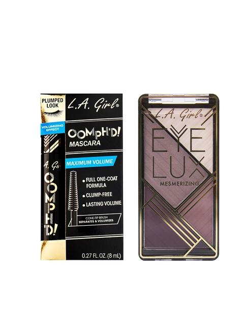L.A Girl Eyeshadow & Mascara Set