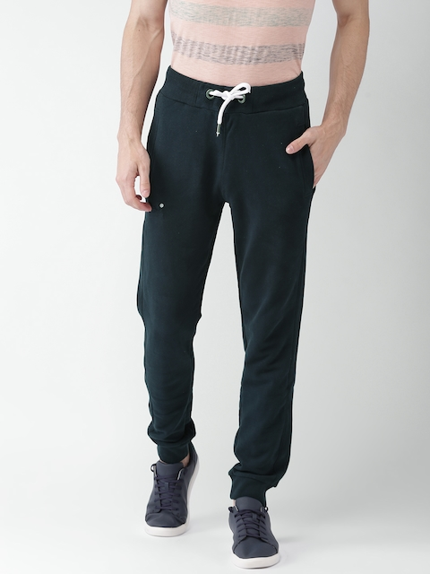 Superdry Men Navy Blue Solid Joggers