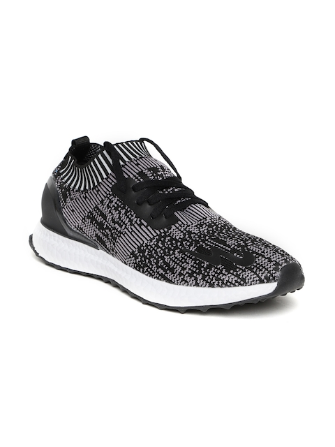 Campus Men Black Electra Woven Design Walking Shoes