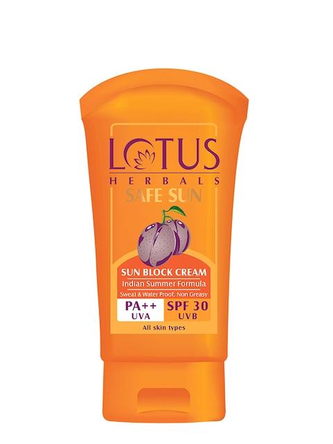 Lotus Herbals Safe Sun Sun Block Cream