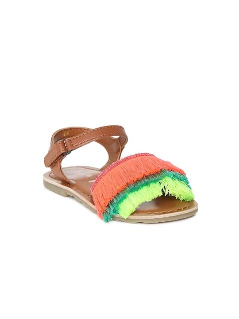 Aria Nica Girls Multicoloured Comfort Sandals