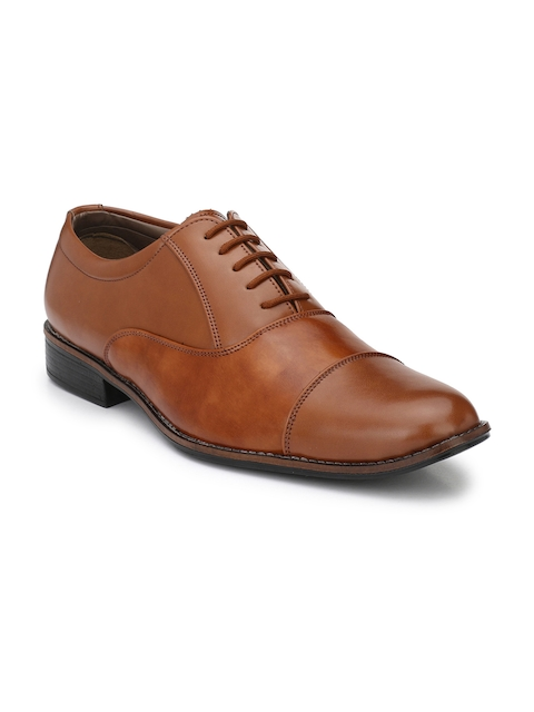 Sir Corbett Tan Brown Oxford Formal Shoes