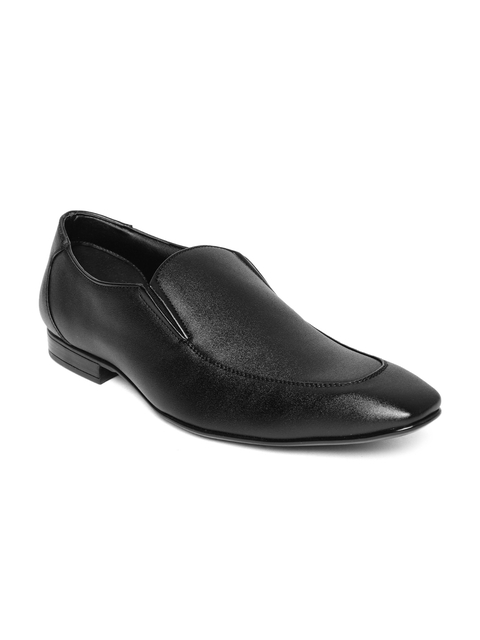 Bata Men Black Formal Slip-Ons