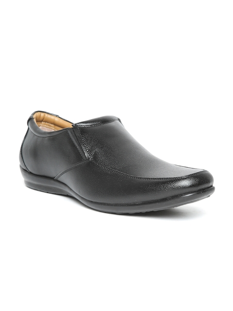 Bata Men Black Semiformal Slip-Ons