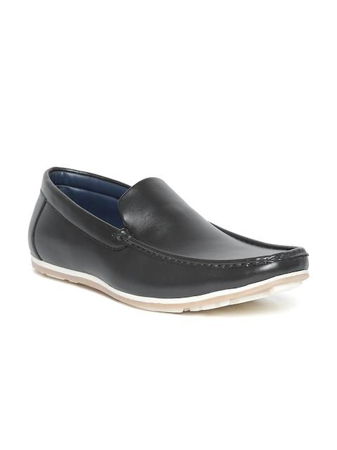Bata Men Black Loafers