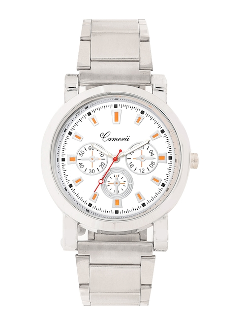 Camerii Men Off-White Dial Watch WC28MCcr