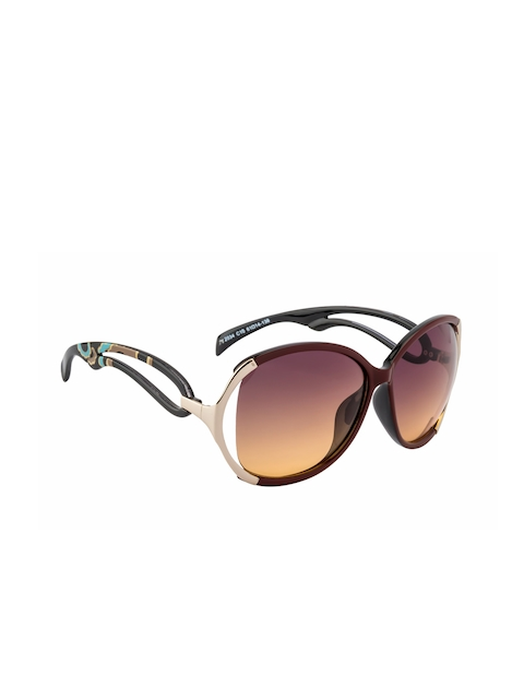 Ted Smith Women Cateye Sunglasses TS2034 RED