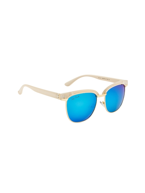 Ted Smith Women Mirrored Square Sunglasses TS9950 T97
