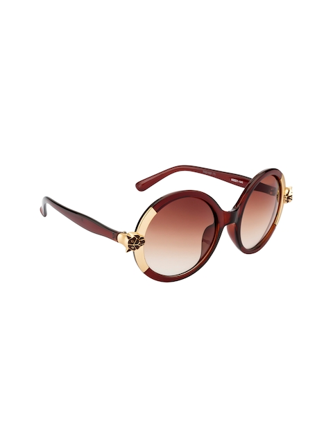 Ted Smith Women Round Sunglasses TSS1021 C1