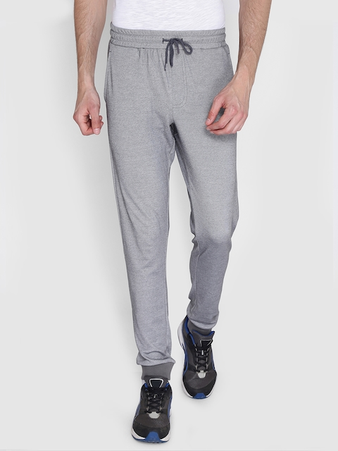 Alcis Men Grey Solid Joggers