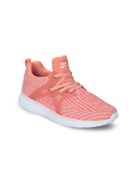 Red Tape Women Peach-Coloured Walking Shoes