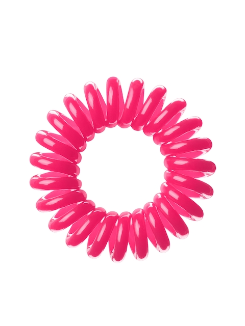 Invisibobble Pink Ponytail Holders