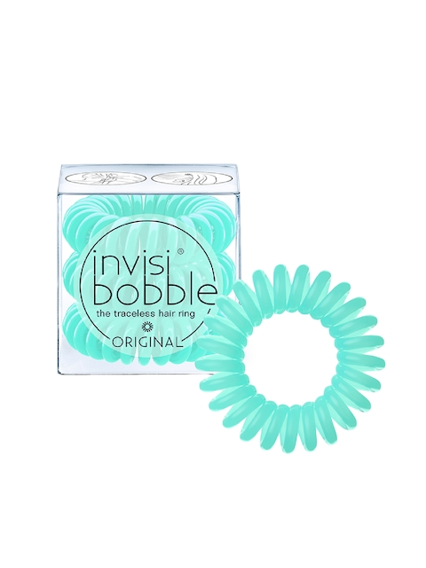 Invisibobble Unisex Set of 3 Blue Mint To Be Ponytail Holders