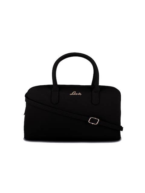 Lavie Black Solid Handheld Bag