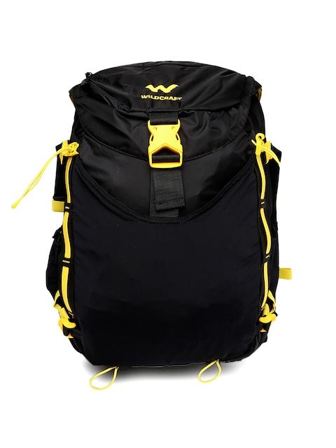 Wildcraft Unisex Black Vapra 24 Rucksack