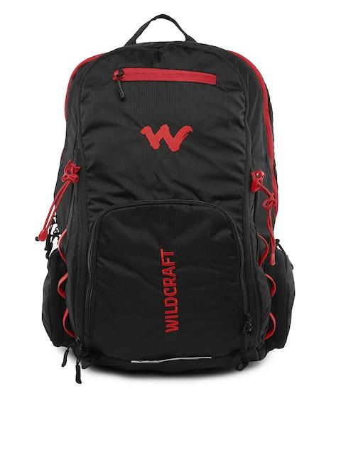 Wildcraft Unisex Black & Red Kramat Rucksack