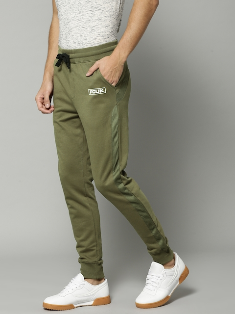 French Connection Olive Green Joggers