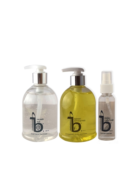 BE THE SOLUTION Set of 3 Bathroom Accessories
