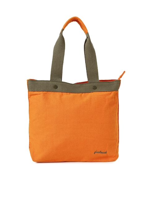Fastrack Orange Tote Bag  available at myntra for Rs.600