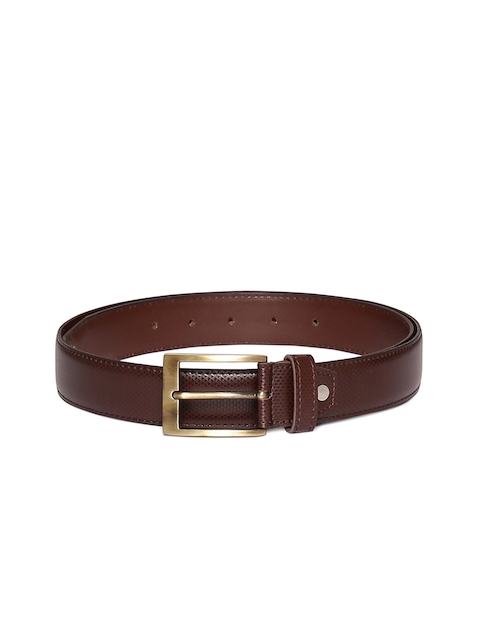 CHISEL Men Brown Solid Belt