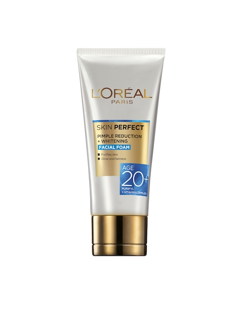 LOreal Paris Skin Perfect Pimple Reduction Plus Whitening Facial Foam Face Wash