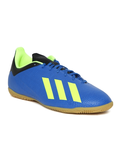 Adidas Men Blue X Tango 18.4 IN Football Shoes