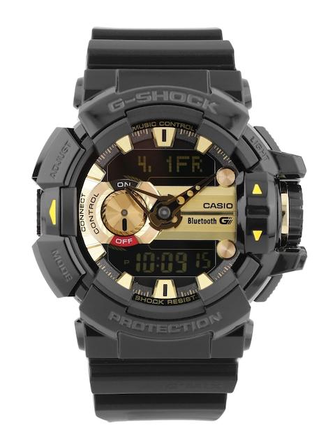 CASIO G-SHOCK Men Black Analogue-Digital Smart Watch G557