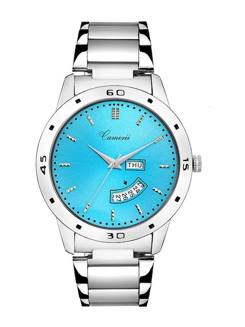 Camerii Men Blue Analogue Watch WM273