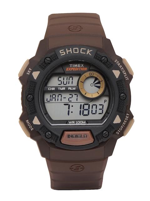 Timex Men Grey Digital Watch TW4B07500