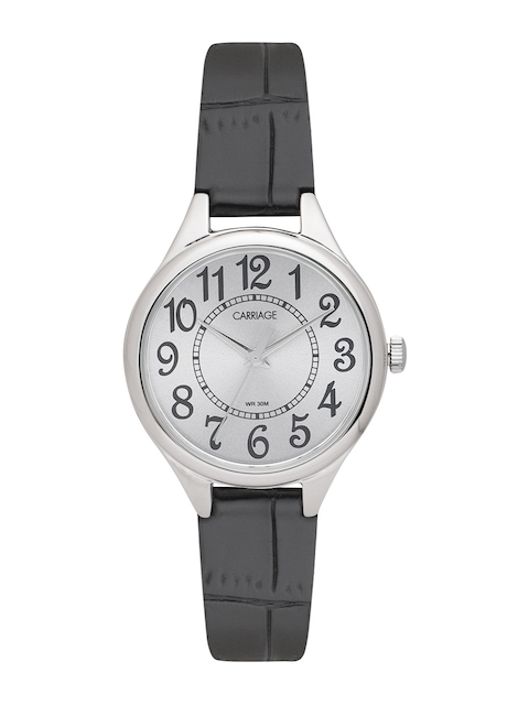 Timex Women Silver-Toned Analogue Watch C3C391