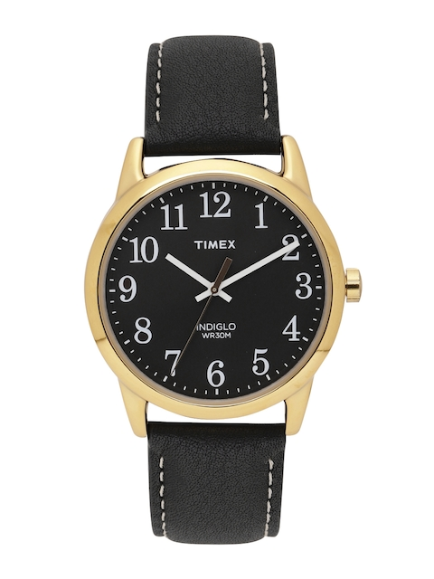 Timex Men Black Analogue Watch TW2R29400