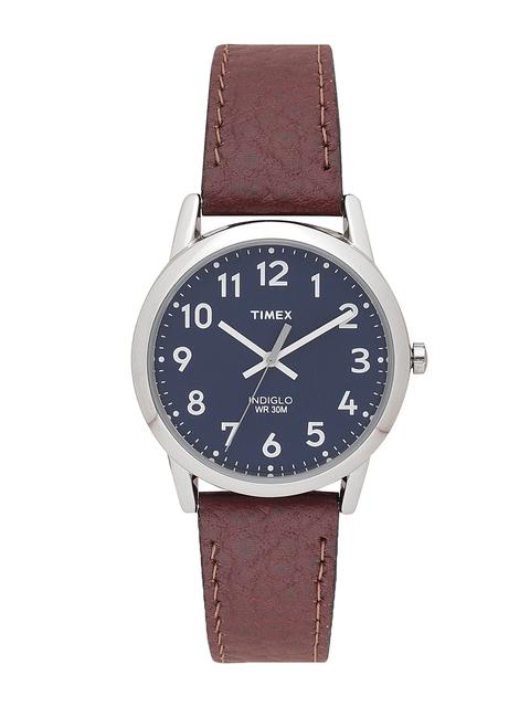 Timex Men Navy Blue Analogue Watch T2P319