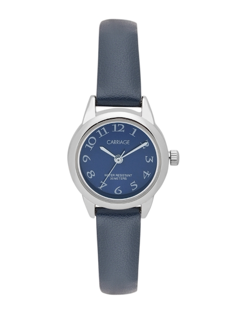 Timex Women Blue Analogue Watch C2A871