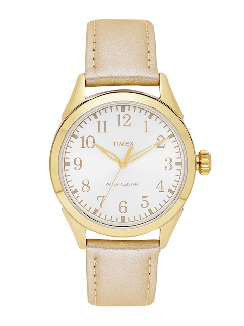 Timex Women Silver-Toned Analogue Watch TW2P99300