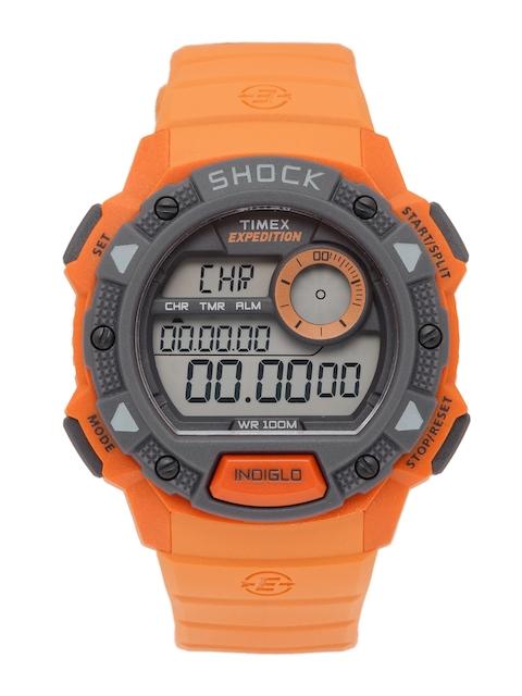 Timex Men Orange Digital Watch TW4B07600