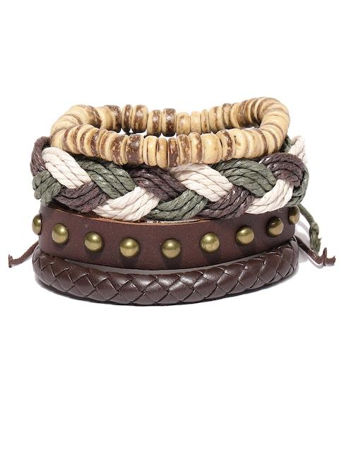 The Bro Code Men Pack of 4 Bracelets