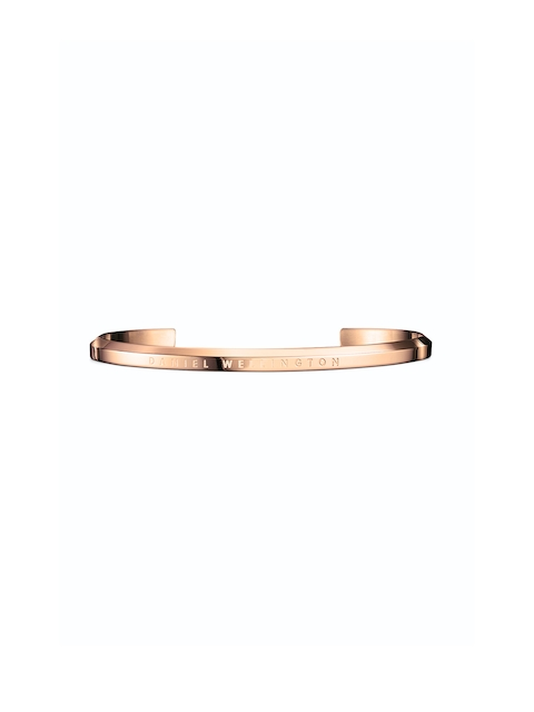 Daniel Wellington Rose Gold Stainless Steel Rose Gold-Plated Cuff Bracelet