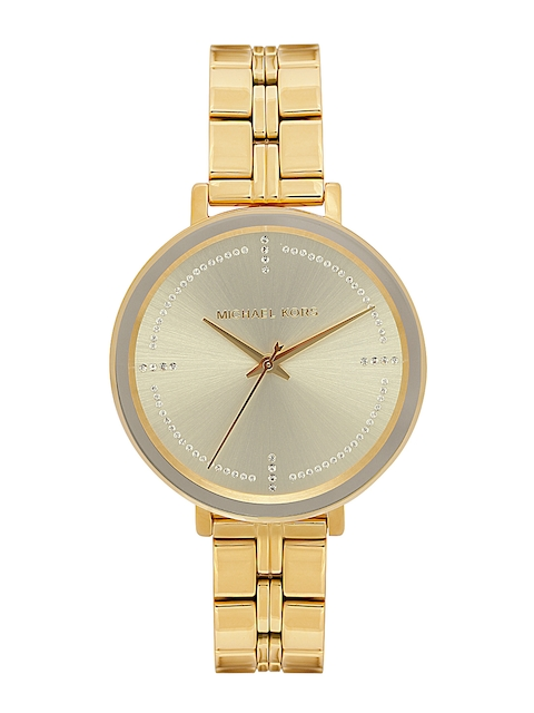 Michael Kors Women Gold-Toned Analogue Watch MK3792_OR